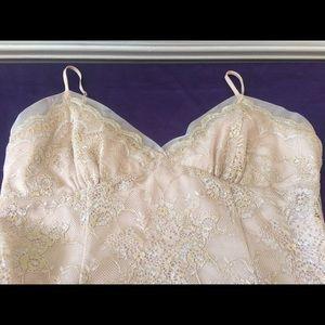 BCBG sexy sequins cami top